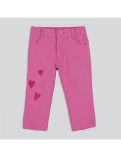 Pantalon gabardina color beba