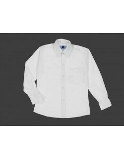 Camisa Colegial Blanca Rutilante