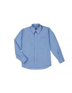Camisa Colegial Celeste Rutilante
