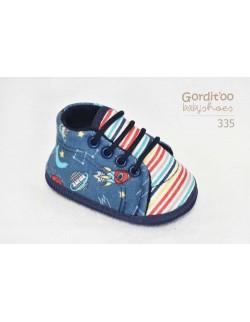 Zapatilla galaxia bebe Gorditoo
