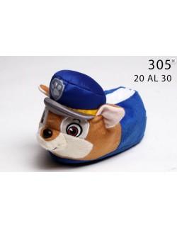 Pantuflas Paw Patrol Azul