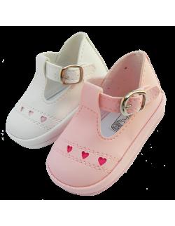 Guillermina blanca corazón Pepes Bebes