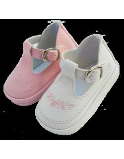 Guillermina blanca bordada Pepes Bebes