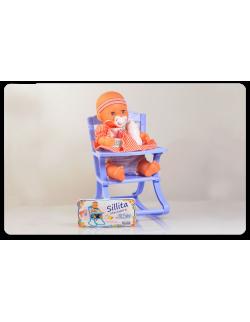 Bebe con silla mecedora Yoly-Bell