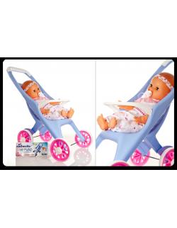 Bebé con cochecito Yoly-Bell