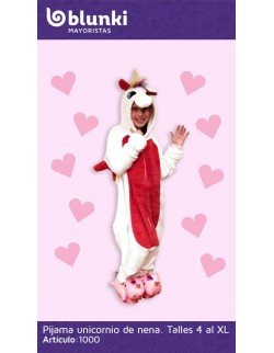 Pijama entera de Unicornio