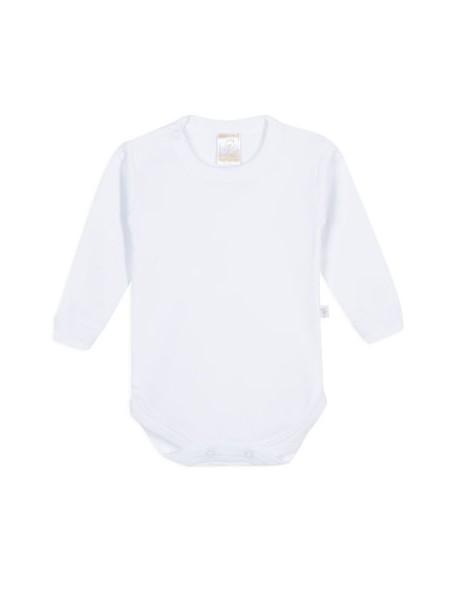 Body blanco manga larga Naranjo